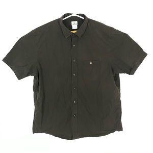 Lacoste men short sleeve button shirt